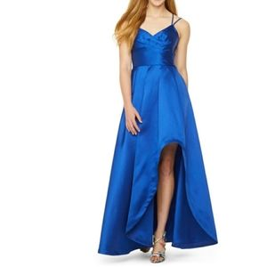 My Michelle Prom Sleeveless High-Low Ball Gown-Jun